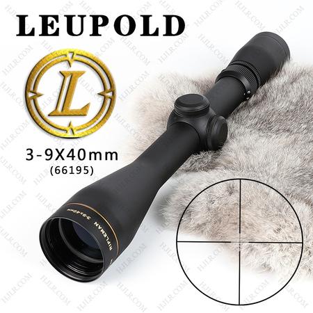 刘坡Leupold Rifleman3-9x40步兵2点分化66195抗震瞄准镜