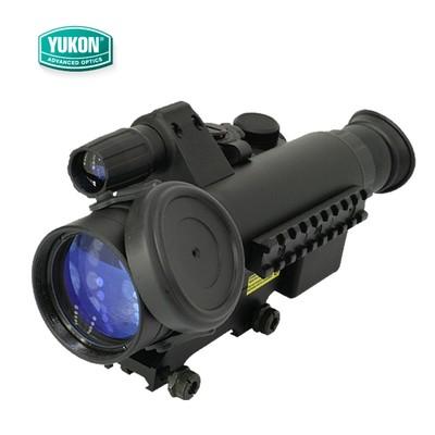 白俄罗斯Yukon 哨兵2.5x50 3x60红外线夜视仪 夜瞄夜视望远镜 带十字架瞄