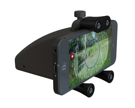 装上JouFou君锋手机支架变智能瞄准镜 标配20mm卡槽